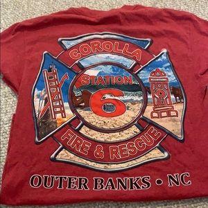 Corolla, NC Fire Department Shirt